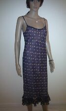 PHASE EIGHT Designer Dress.  Pure Silk. Evening, Cocktail Party. Long.  SIZE 12