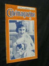 JAN 6, 1922 FRENCH CINEMAGAZINE Uncut Complete 29 pgs