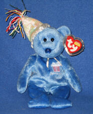 TY SEPTEMBER the BIRTHDAY BEAR BEANIE BABY - MINT with MINT TAG