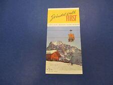 International Swiss Travel Brochure, Skiing, Grindelwald First, S647