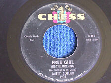 Mitty Collier/I Had a Talk with My Man-Free Girl/Chess 1907/VG+ to EX-