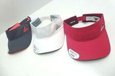 ADIDAS Women's Golf/Tennis/Sport Visor  *White/Grey/Pink Hats *New