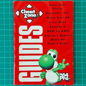 Vintage 1998 N64 / Nintendo 64 Pro Magazine - April Issue - Guide Book - Yoshi