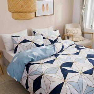Luxury Bedding Set King Size Home Textile Microfiber Quilt Cover Set  Pillowcase