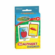 Alphabet Preschool A - Z Flash Cards Kids Learning 36 Card Pack T3 - Ages 3+