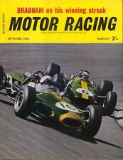 Motor Racing 09/1966 British, Dutch & German GP Brabham Alpine Rally Fraser Imp