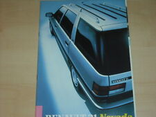 60351) Renault R 21 Nevada Prospekt 10/1986