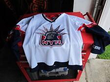 NYR New York Rangers Hockey Jersey CCM Adult XL NHL Statue of Liberty