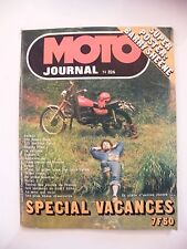 Moto Giornale Juillet 1977 No.326 550 Honda 125 Montesa Trial Sheene