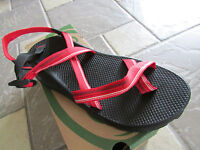 NEW CHACO Z2 UNAWEEP SPORT SANDALS MENS 15 HIKING TRAIL SPIRIT RED STRAPPY