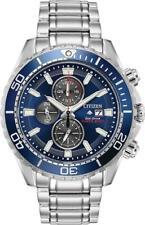 New Citizen Promaster Diver Eco Drive ST Steel Blue Dial Men's Watch CA0710-82L