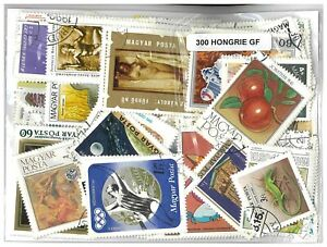 Hungary Pack of 300 Different Stamps All CTO Large Pictorial