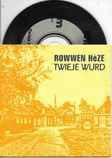 ROWWEN HEZE - Twieje wurd CD SINGLE 2TR Dutch Cardsleeve 1992 (HKM)