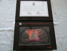 OFFICIAL STREET FIGHTER 15TH ANNIVERSARY PLAYSTATION 2 CONTROLLER, AKUMA STYLE
