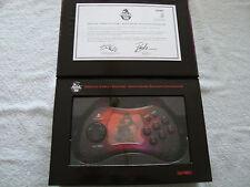 Official Street Fighter 15TH Anniversary PLAYSTATION 2 controlador, AKUMA Estilo