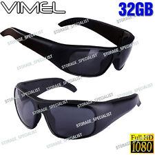SunGlasses Camera 32GB Ski Sport Waterproof 1080P Glasses Bike Action no Spy