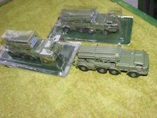 BM-27 MLRS x3 Russian Soviet diecast Fabbri 1/72 20mm BNIB