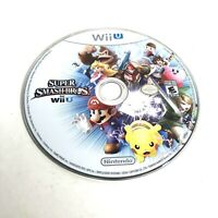 Super Smash Bros. (Nintendo Wii U, 2014) - Disc Only - Tested & Working
