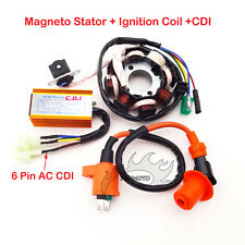 Moped Scooter Magneto Stator Racing Ignition Coil AC CDI For GY6 125cc 150cc ATV