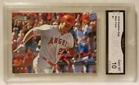 2020 Topps Stadium Club Mike Trout #1 Gem MT 10