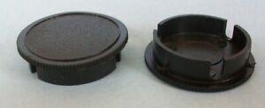 "Dust Caps / Plugs For 1.25"" Telescopes & Accessories ~ 2 pcs ~ NEW"