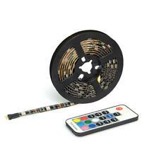 USB LED Strip Lights for TV Background Lighting Home Decor + Remote