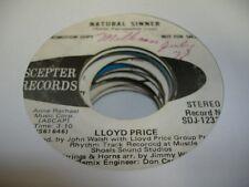 Soul Promo 45 Lloyd Price Natürliche Sinner Auf Zepter (Promo)