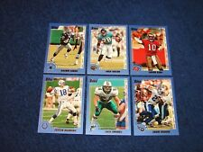 2000 TOPPS FOOTBALL COMPLETE PROMO SET PP1-PP6 WITH PEYTON MANNING (INS5)