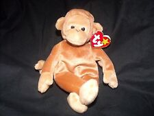 """Vintage Beanie Baby - Bongo - 1995 With Tan Tail - 9"""" - Ct"""