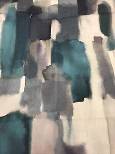 Livia Furnishing Fabric, Peacock 2150mm  100% cotton