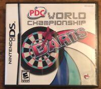 PDC World Championship Darts (Nintendo DS, 2009) Complete CIB