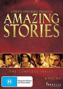 AMAZING STORIES Season 1 + 2 (Region 4) DVD The Complete Series Steven Spielberg