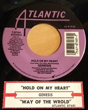 Genesis 45 Hold On My Heart / Way Of The World  w/ts