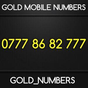 GOLD 0777 GOLDEN VIP EASY MOBILE BUSINESS NUMBER 07778682777