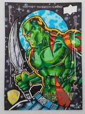 DRAX 1/1 Sketch Card by FREE ISABELO Upper Deck GUARDIANS Of The GALAXY 2