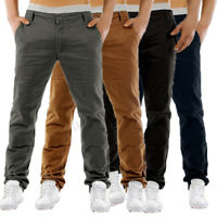 INCERUN Mens Chino Trousers Slim Fit Stretch Casual Jeans Designer Office Pants
