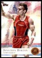 2012 TOPPS OLYMPICS COPPER JONATHAN HORTON GYMNASTICS #80 PARALLEL