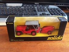 Solido 3304 Jeep Willys Pompier - Boxed
