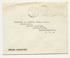 Canada 1940 FREE Franked Office of the Prime Minister Ottawa to MA USA X