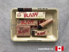 RAW TRAY COMBO - Tray, Organic KS, Classic 11/4, Tips, Micro Lighter, Hydrostone