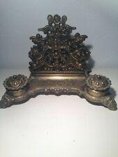 French antique desk set