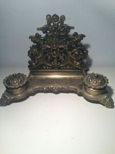 French antique desk set