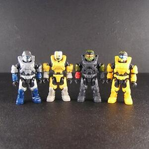 Mega Construx Spartans lot of 4 Halo Micro Action figures