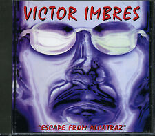 Victor Imbres - Escape from Alcatraz (CD Album 1998) Case cracked NEW