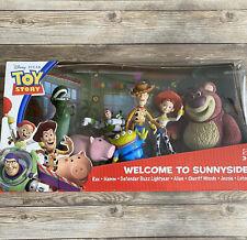 Disney Toy Story Welcome to Sunnyside Figure Set Rex Hamm Buzz Alien Lotso Woody