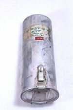 VTG First Aid Kit and Supplies Metal Mounting Round Cylinder Halperin Co. Boston