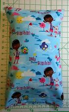 Doc McStuffins Daily Dose of Sunshine Pillow Case with Travel / Toddler Pillow
