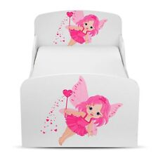 FAIRY DUST JUNIOR TODDLER BED PINK/WHITE KIDS CHILDRENS GIRLS