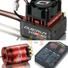 Hobbywing Quicrun Brushless Sensored Motor ESC Combo 10BL60 60A 10.5T 3650 RC