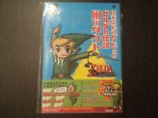 Guide Zelda: Wind Waker Official Guia Book Japan Gamecube Japanese